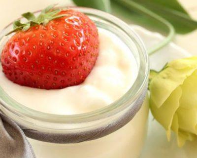 yaourt au fraise